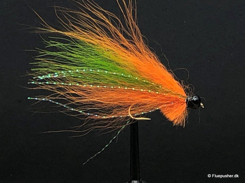 Silver wing green/orange