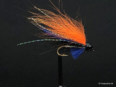 Silver wing black/orange