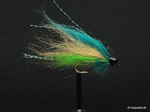 Silver wing blue/chartreuse
