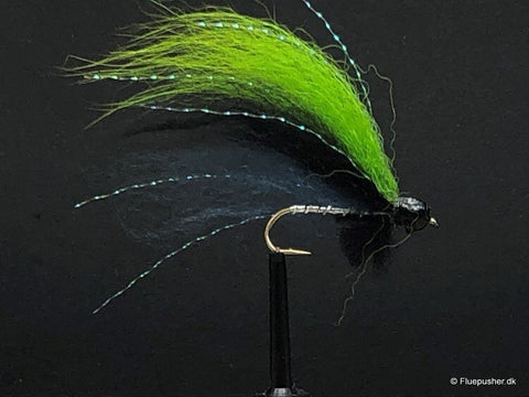 Silver wing Black/green/blue