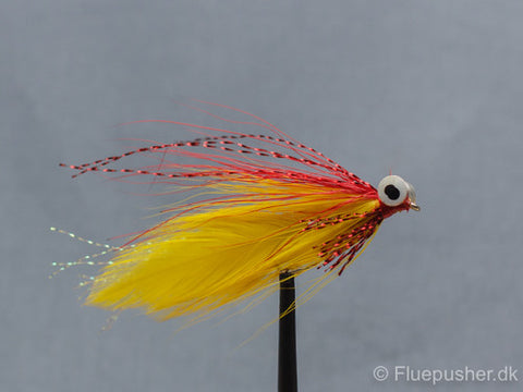 Red/yellow clouser minnow