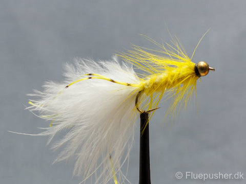 Gul flexilegged woolly bugger