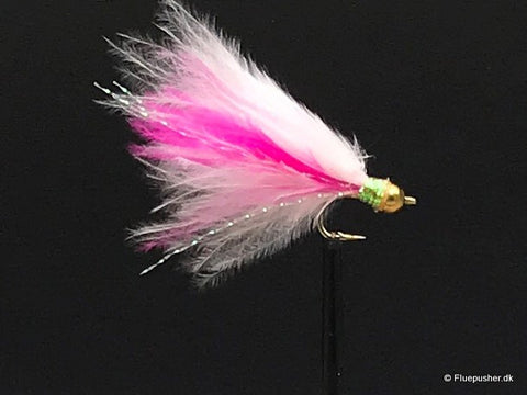 Mini Trigger wide gap pink/hvid