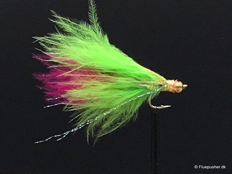 Mini Trigger wide gap chartreuse/pink