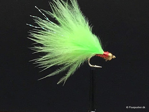 Mini Trigger wide gap chartreuse/rubin
