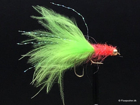 Chartreuse/orange Græker stinger uv