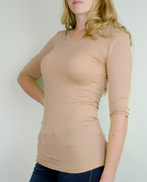 Elbow Sleeve- Nude