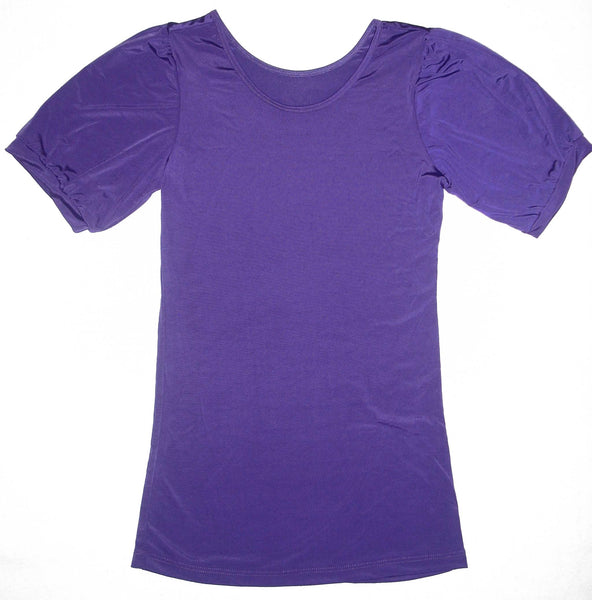 Poof Sleeve- Purple --- Clearance