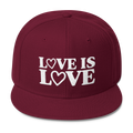 Love is Love - Wool Blend Snapback Hat