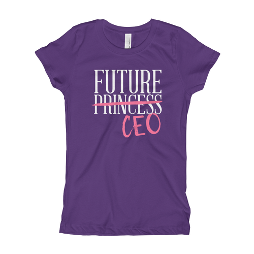 Future CEO - Girl's T-Shirt