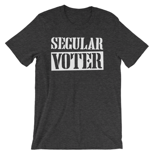 Secular Voter - Unisex Short Sleeve T-Shirt