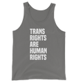 Trans Rights are Human Rights - Unisex Tank Top