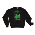 Tree Hugging Liberal - Planet Earth Environmental Activist Gift - Champion Sweatshirt
