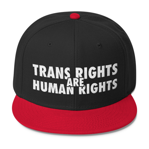 Trans Rights Are Human Rights - Wool Blend Snapback Hat
