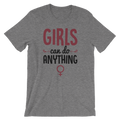 Girls Can Do Anything - Unisex Short Sleeve T-Shirt - Cruel World Apparel Shirts Clothing