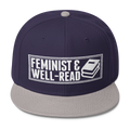 Feminist and Well Read - Wool Blend Snapback Hat