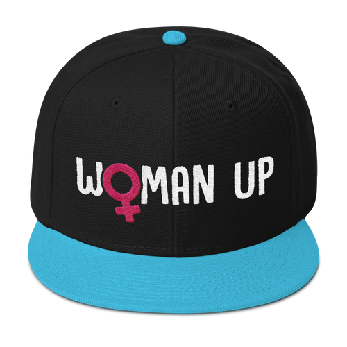 Woman Up - Feminist Snapback Hat