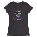 Some People Are Bisexual Get Over It - Ladies' Short Sleeve T-Shirt