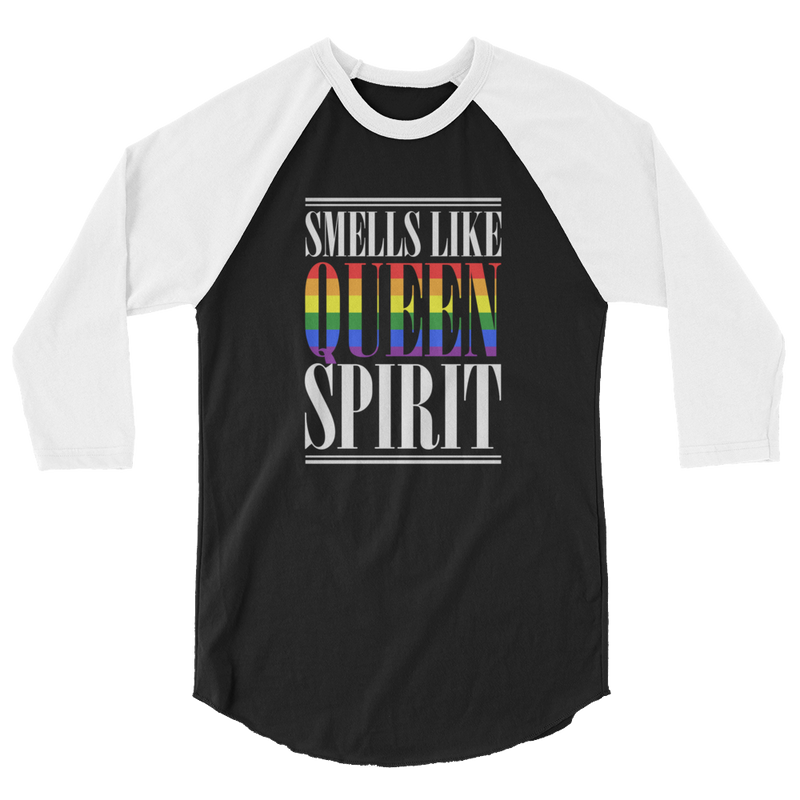 Smells Like Queen Spirit - 3/4 Sleeve Raglan Shirt