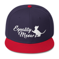 Equality Meow - Feminism Wool Blend Snapback Hat
