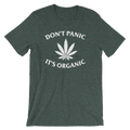 Don't Panic It's Organic - Unisex Short Sleeve T-Shirt