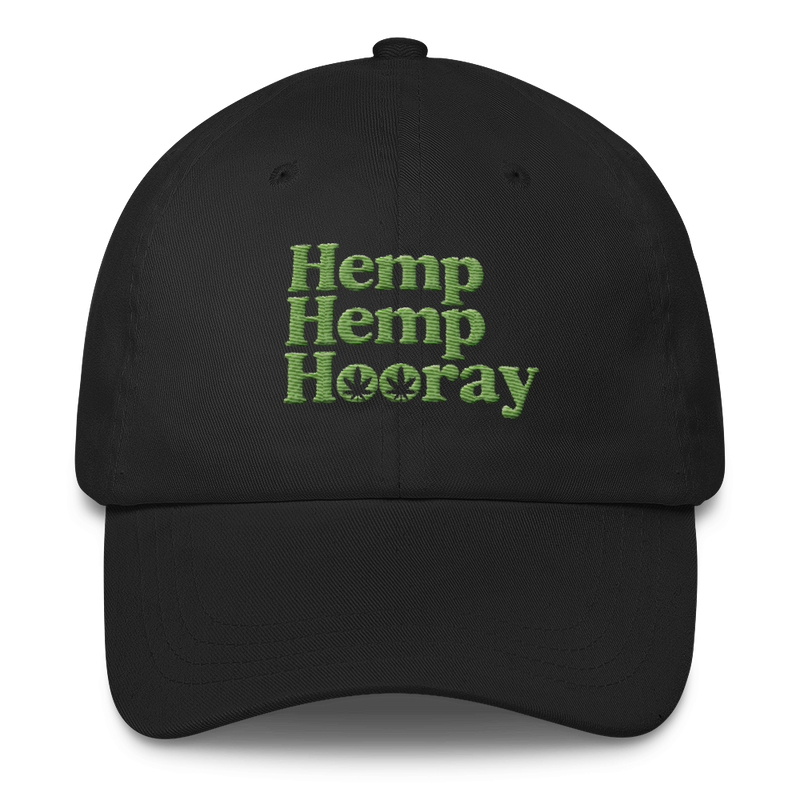 Hemp Hemp Hooray - Classic Dad Cap Hat - Cruel World Apparel Shirts Clothing