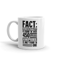 Fact Homosexuality is Found in Over 450 Species - Coffee Mug
