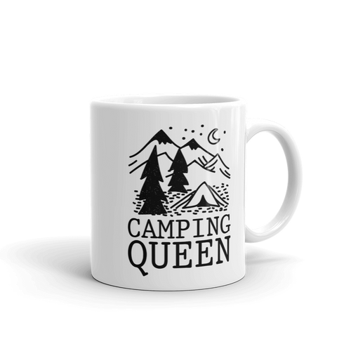 Camping Queen - Coffee Mug Camp Gift