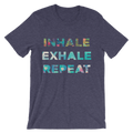 Inhale, Exhale, Repeat - Unisex Short Sleeve T-Shirt