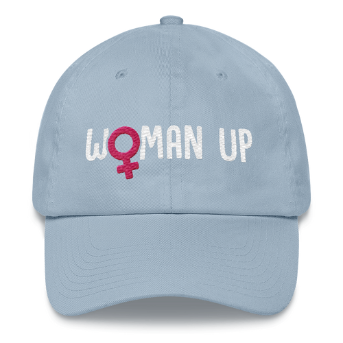 Woman Up - Feminist Dad hat