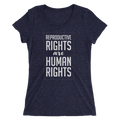 Reproductive Rights Are Human Rights - Ladies' Short Sleeve T-Shirt