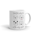 Shelter Adoption is the Only Option - Coffee Mug