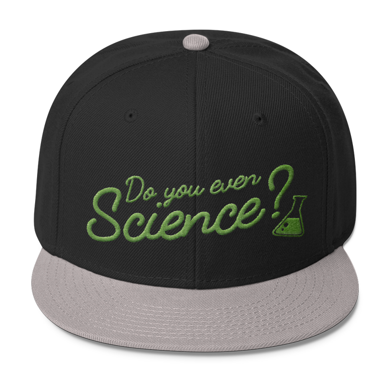 Do You Even Science - Wool Blend Snapback Hat