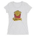 Fries Before Guys - Ladies' Short Sleeve T-Shirt