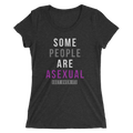 Some People Are Asexual Get Over It - Ladies' Short Sleeve T-Shirt
