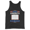 Make America Read Again Unisex  Tank Top Reading