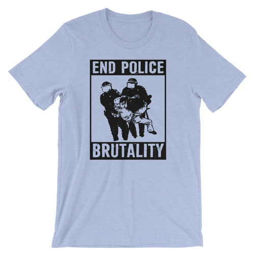 End Police Brutality - Unisex Short Sleeve T-Shirt