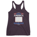 Make America Read Again Women's Racerback Tank Reading