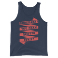 Bookmark You Mean Quitter Strip? Unisex Tank Top Reading