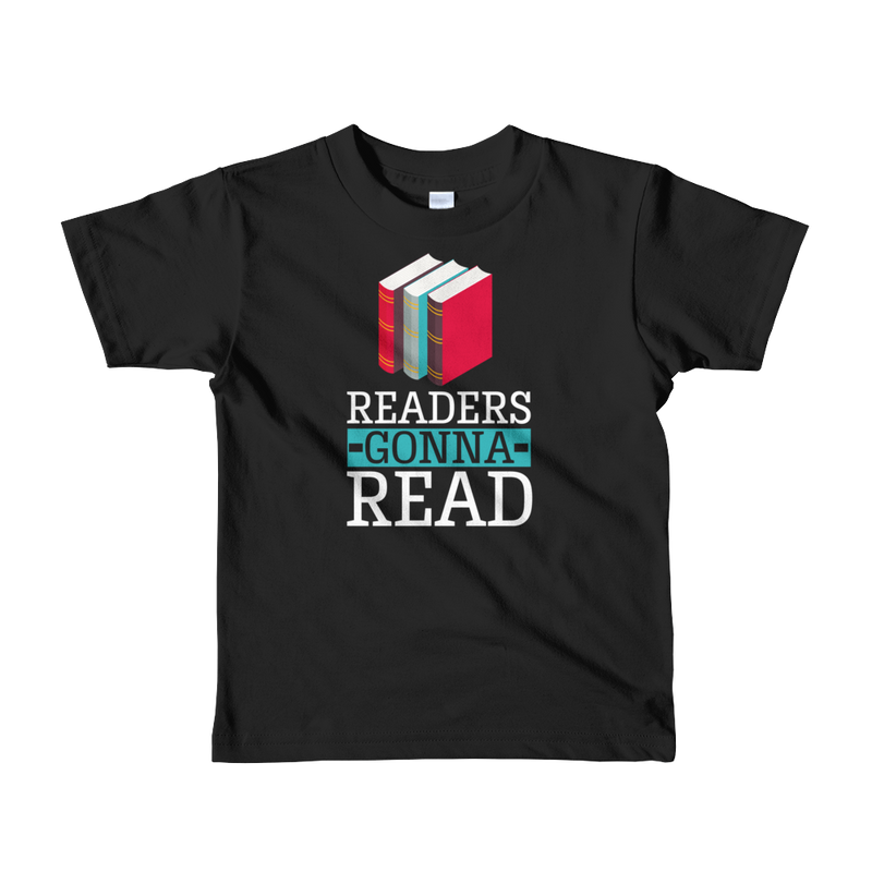 Readers Gonna Read - Literacy Short sleeve kids t-shirt