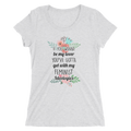 If You Wanna Be My Lover You Gotta Get With My Feminist Ideologies - Ladies' Short Sleeve T-Shirt