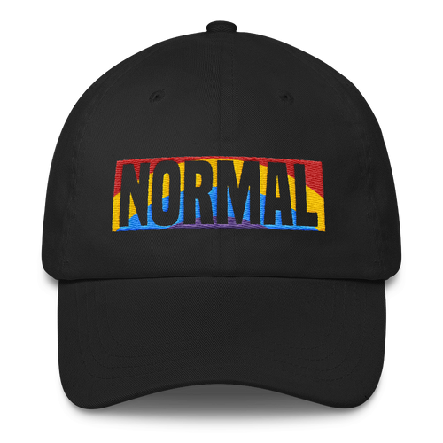 Normal LGBTQ-affirming Classic Dad Cap Hat