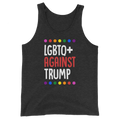 LGBTQ+ Against Trump - Unisex Tank Top