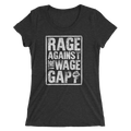 Rage Against The Wage Gap - Ladies' Short Sleeve T-Shirt - Cruel World Apparel Shirts Clothing