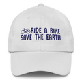 Ride a Bike Save the Earth - Classic Dad Cap Hat