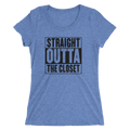 Straight Outta The Closet - Ladies' Short Sleeve T-Shirt