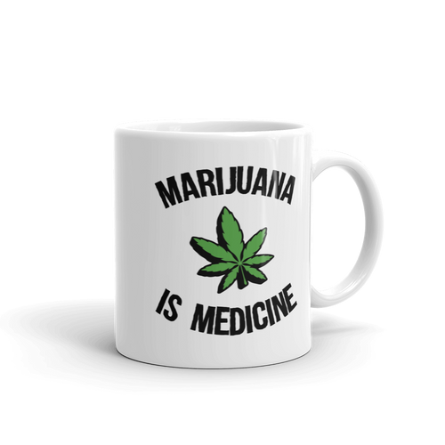 Marijuana Is Medicine - Coffee Mug