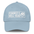 Feminist and Well-Read - Classic Dad Cap Hat