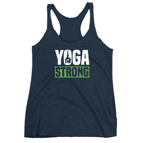Yoga Strong - Women's Racerback Tank