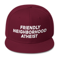 Friendly Neighborhood Atheist - Wool Blend Snapback Hat